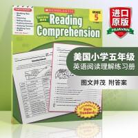 正版美国小学五年级英语阅读理解练习册 scholastic Success with Reading comprehe