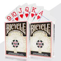 大字纸牌美国天天德州扑克牌单车扑克纸牌