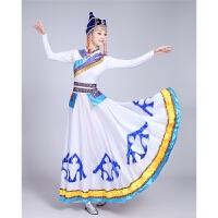 新款少数民族服装蒙古族服饰蒙古服装演出服装舞蹈女裙袍舞台服装