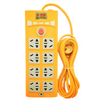 八位插座排插 带开关 无线3 510米 40孔电源插板插线板接线板插排