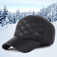 冬季帽子时尚韩版潮流休闲运动棒球帽户外防寒保暖男士加厚护耳帽