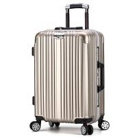 铝框拉杆箱减震万向轮男登机硬箱旅游行李女学生密码箱箱子ABS+PC