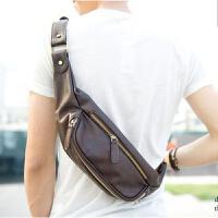 胸包韩版 潮酷时尚男士小包斜挎包休闲包手机腰包