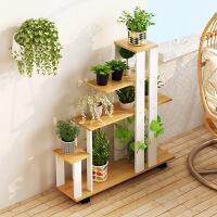 阳台花架多层室内置物架简约多功能花盆架子落地式多肉花架