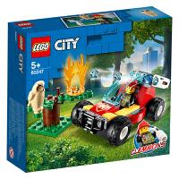 【当当自营】LEGO乐高积木 12月新品 城市组 60247 森林失火救援 玩具礼物