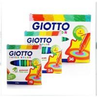 全店满99包邮!意大利进口GIOTTO奇乐幼儿童可水洗无毒水彩笔 36色 细杆彩色笔