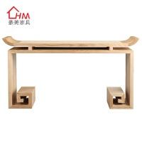 新中式玄关台现代玄关桌实木条案门厅玄关柜供桌仿古禅意家具定制 组装