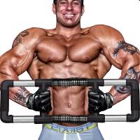 臂力器男士压力器胸肌腹肌健身器材家用综合训练臂力棒锻炼握力棒p