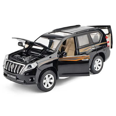 1:32回力越野车儿童玩具汽车模型丰田兰德酷路泽 普拉多合金车模型