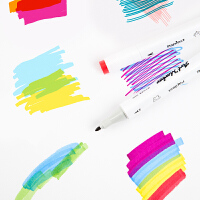 广博双头多色马克笔绘画用笔画画工具设计套装学生彩色笔KSJ25587