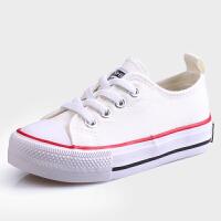 男童女童鞋子春秋球鞋儿童板鞋春鞋布鞋小白鞋