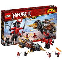 【当当自营】乐高LEGO幻影忍者系列 70669 大地忍者寇的巨型钻头战车