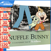 【78�x3】英文原版�L本3 6�q Knuffle Bunny 古�{什小兔 �P迪克大�� 小�i小象同作者 Mo Willem