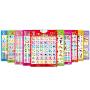 双面凹凸有声挂图全套婴幼儿童玩具宝宝语音早教书籍看图识字卡送电池送挂钩