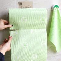 2层 加厚加大 不沾油厨房一次性抹布无纺布洗碗布家务清洁 r0p