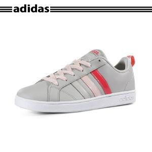 【新品】阿迪达斯(Adidas)VS ADVANTAGE K 2017新款运动休闲鞋轻便低帮板鞋 CG5691