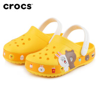 Crocs儿童男女童凉鞋2021新款趣味学院linefriends洞洞鞋 206028 趣味学院LINE Friends
