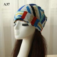 女士帽子孕妇包头帽透气时尚月子帽薄款套头帽两用产妇帽