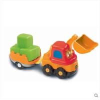 VTech伟易达神奇轨道车 挖掘机车工程车儿童玩具车会员