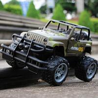 遥控车越野攀爬可一键开门悍马汽车模型玩具可充电赛车男孩儿童玩具