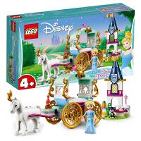 【当当自营】LEGO乐高积木迪士尼公主系列41159 4岁+灰姑娘的梦幻马车之旅