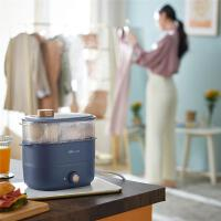 小熊煮蛋器家用小型自��嚯�蒸蛋器�p�涌啥�r�蒸�多功能早餐�C