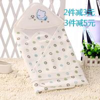 春夏秋宝宝薄款单层棉厚款包被纯棉抱被新生婴儿用品包单巾被抱毯