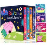 英文原版Peppa Pig: Bedtime Little Library小猪佩奇:睡前故事