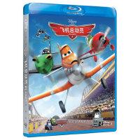 正版高清蓝光电影碟片飞机总动员BD50动画光盘光碟英语1080p