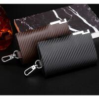 韩版大容量钥匙包男女士商务汽车锁匙包腰挂多功能卡包零钱包