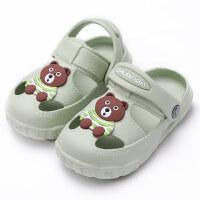 2018新款儿童凉鞋夏女宝宝洞洞鞋1-3岁婴幼儿凉拖鞋小男孩沙滩鞋