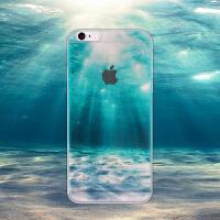【全国包邮】hidog 苹果6plus手机壳创意5.5半透明iPhone6s plus保护套软边新