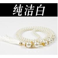 百搭女士韩版优雅珍珠镶钻时尚腰链腰带 女装配饰 女装饰细腰带