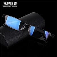 近视眼镜男款大脸宽脸超轻商务黑框镜框金属全框眼镜架防辐射成品