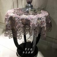 【满减优惠】高档餐桌布茶几桌布欧式布艺床头柜罩盖布圆桌桌布圆形电视柜盖布