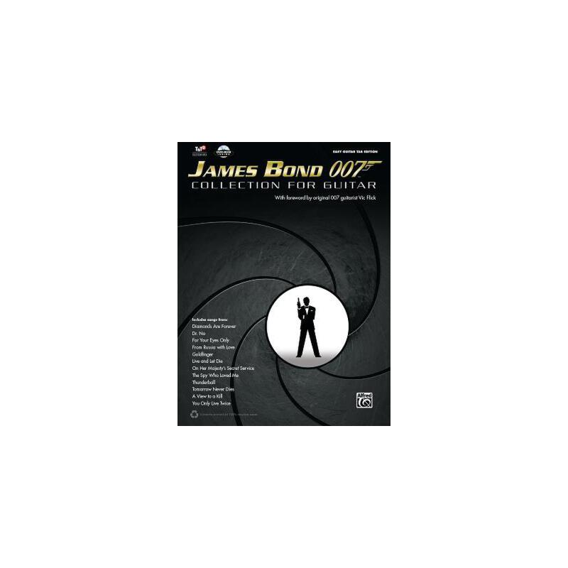 【预订】James Bond 007 Collection for Guitar [With DVD ROM] 预订商品,需要1-3个月发货,非质量问题不接受退换货。