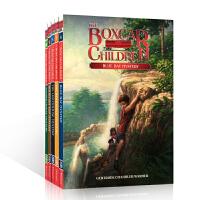 顺丰发货 英文原版 棚车少年 The boxcar children 6-10册 笑对挫折的探险故事 智慧 善良乐观态度 儿童小说 7-8-9-10-11-12岁桥梁章节书
