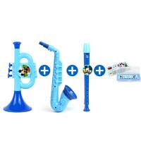 10孔口琴儿童口哨学生玩具宝宝口风琴喇叭乐器女孩男