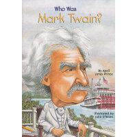 Who Was Mark Twain? 漫画名人传记:马克・吐温 ISBN9780448433196