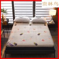 踏踏米床垫子1.8m床2米双人打地铺睡垫可折叠 卧室寝室榻榻米床垫Y