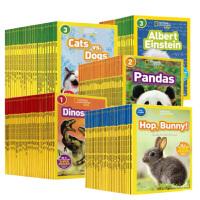 美国国家地理儿童百科英文版National Geographic KIDS readers L1-2-3全套108本科普分级阅读 3-10岁学习原版绘本书杂志图画书