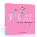 英文原版 Happiness Is 幸福是…200件关于我爱妈妈的事things hings I Love About