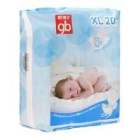 好孩子婴儿纸尿裤goodbaby纸尿裤中包装XL 20片装 KBXLB0420(10M)