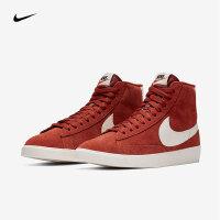Nike耐克2018年新款女子红白复古高帮休闲复刻鞋AV9376-600