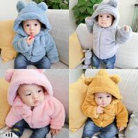 新婴儿小童男童儿童女童装宝宝冬季秋冬装外套加绒加厚棉衣