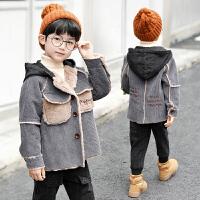 秋冬季童装外套男童3-4-5-6儿童上衣7-8-9岁男孩10
