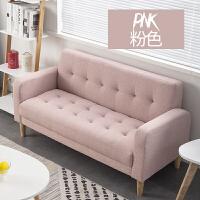 沙发小户型单人双人北欧简约客厅卧室小沙发出租房服装店布艺沙发