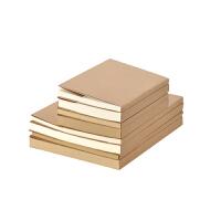 复古欧式牛皮纸空白速写本韩国绘画素描涂鸦本白纸本笔记本子加厚学生用手账本手绘本创意简约记事本B5A5定制