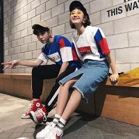 情侣装夏装潮短袖T恤夏季韩版宽松半袖2018新款