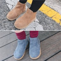 秋冬新款儿童小童宝宝单靴马丁靴子女童低筒短靴切尔西靴子